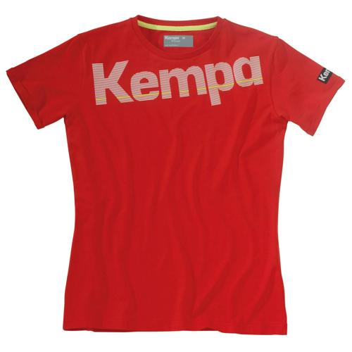 T-SHIRT FEMMME CORE ROUGE KEMPA