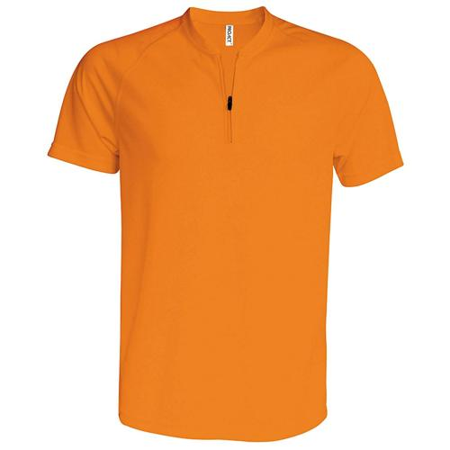 MAILLOT 1/2 ZIP CLASSIC PES TECH ORANGE