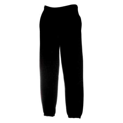 Pantalon jogging molleton Tech enfant noir