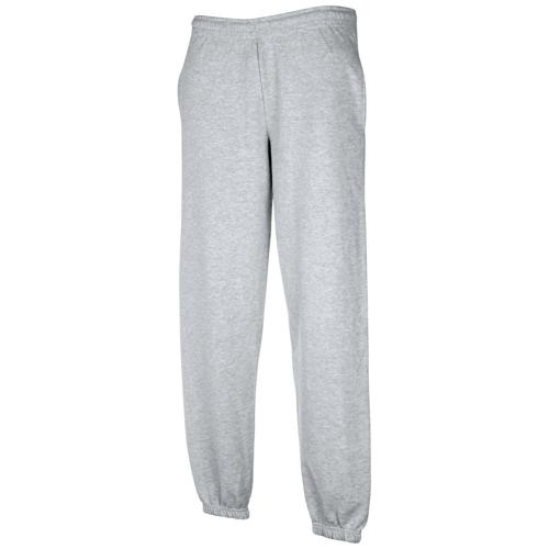 Pantalon jogging molleton Tech enfant gris chiné