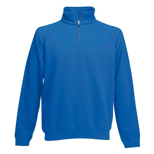 Sweat 1/2 zip molleton Uni Expert royal