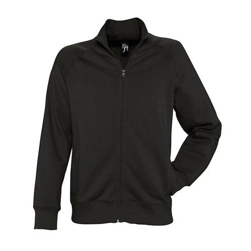 Veste zippée molleton Uni Tech noir