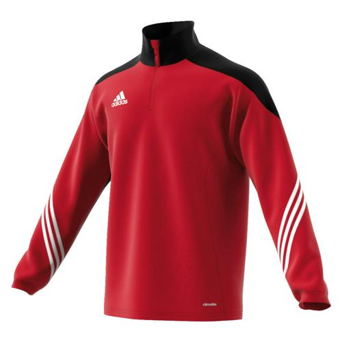 afe3d711657e4 Sweat-Shirt Training 1 2 zip Sereno adidas Rouge-Noir - Casalsport.com