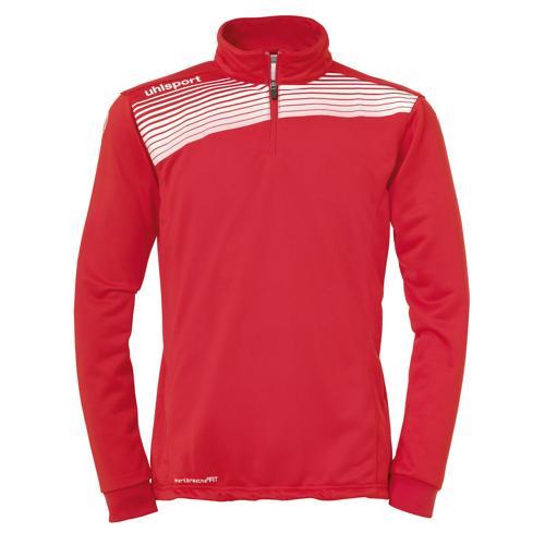 Sweat 1/2 zip Uhlsport Liga 2. 0 Rouge/Blanc