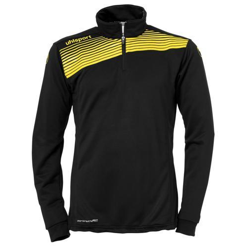 Sweat 1/2 zip Uhlsport Liga 2. 0 Noir/Jaune