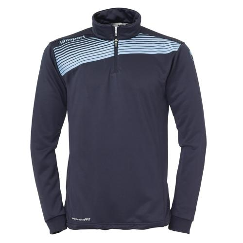 Sweat 1/2 zip Uhlsport Liga 2. 0 Marine/Ciel