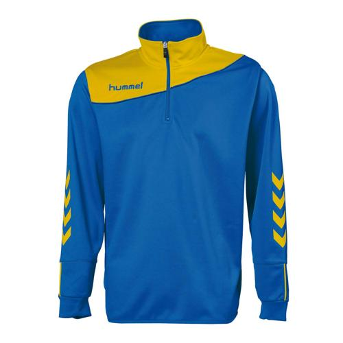 Sweat 1/2 zip Hummel corporate enfant Royal/Jaune