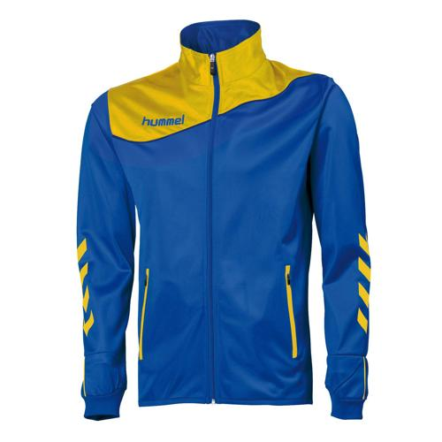 Veste de survêtement Hummel corporate PES enfant Royal/Jaune