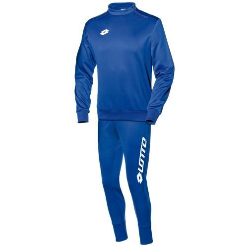 Ensemble Sweat 1/2 zip + pantalon Lotto FIT Cut PES Zenith LOTTO Royal/Blanc