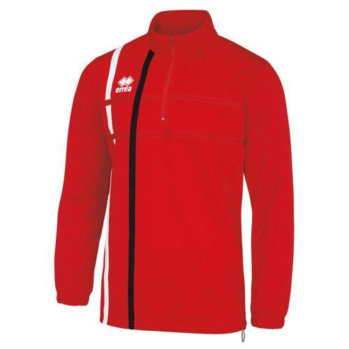 Sweat 1/2 zip Errea Maxime PES Rouge/Noir/Blanc