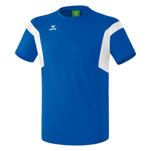 Tee-shirt Erima Classic Team PES Royal/Blanc