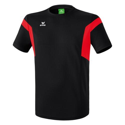 Tee-shirt Erima Classic Team PES Noir/Rouge