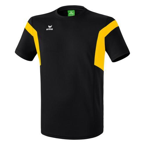 Tee-shirt Erima Classic Team PES Noir/Jaune