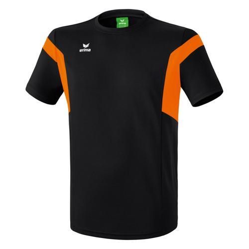 Tee-shirt Erima Classic Team PES Noir/Orange