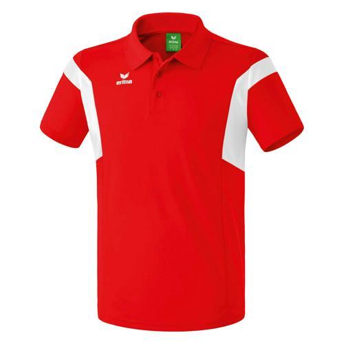 Polo Erima Classic Team PES Rouge/Blanc