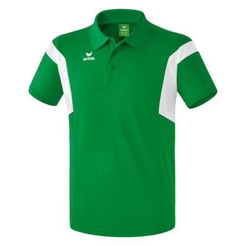 Polo Erima Classic Team PES Vert/Blanc