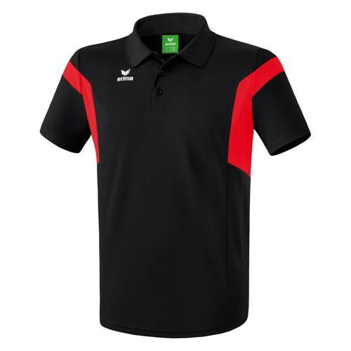 Polo Erima Classic Team PES Noir/Rouge