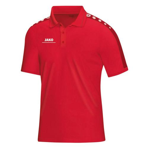 Polo Jako Striker PES Rouge/Rouge