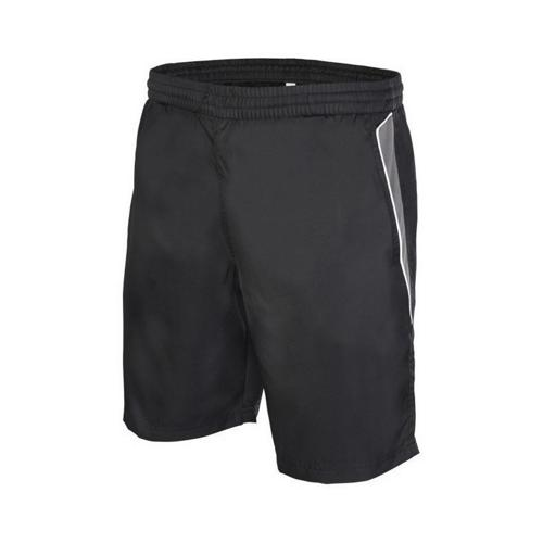 Short Casal Sport Player TC Blanc/Noir/Gris