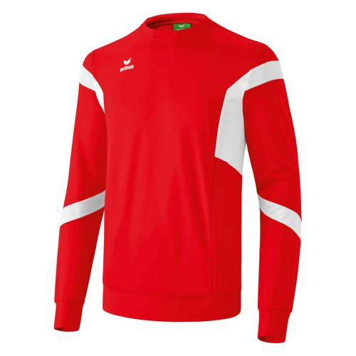 Sweat Erima Clasic Team Top PES Rouge/Blanc