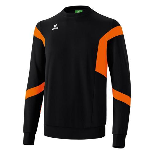 Sweat Erima Clasic Team Top PES Noir/Orange