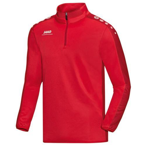 Sweat 1/2 zip Jako Striker PES Rouge/Rouge