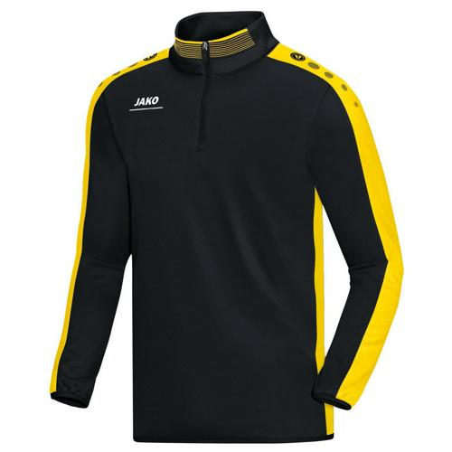 Sweat 1/2 zip Jako Striker PES Noir/Jaune
