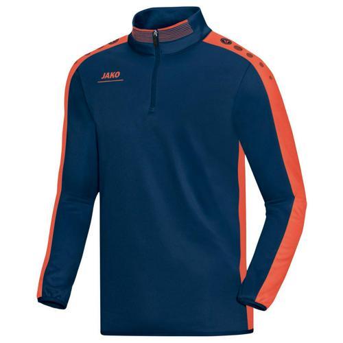 Sweat 1/2 zip Jako Striker PES Marine/Orange