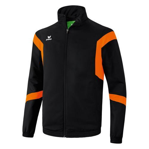 Veste de Survêtement Erima Classic Team PES Noir/Orange