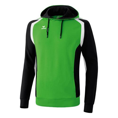 Sweat Erima Capuche Razor 2. 0 Vert/Noir/Blanc