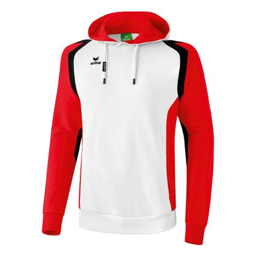 Sweat Erima Capuche Razor 2. 0 BlancRougeNoir