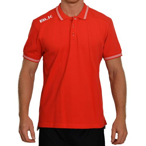 Polo BLK classic rouge blanc