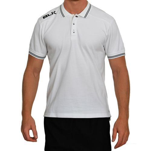 Polo BLK classic blanc noir