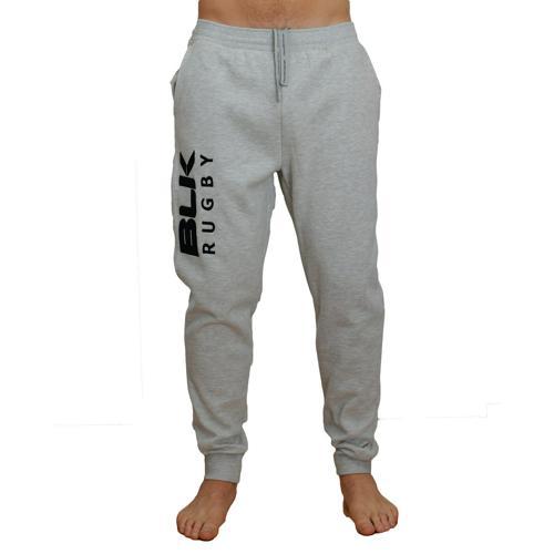 Pantalon BLK molleton gris chiné