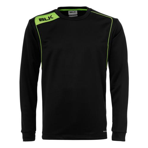 Sweat BLK training top noir vert