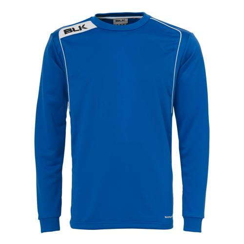Sweat BLK training top bleu royal blanc