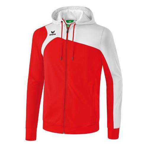 Veste à capuche Erima Club 1900 2.0 Rouge