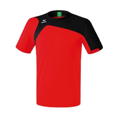 Tee-Shirt Erima Club 1900 2.0 Rouge/Noir