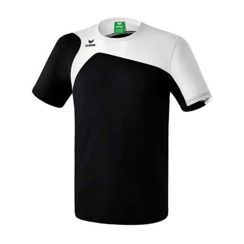 Tee-Shirt Erima Club 1900 2.0 Noir/Blanc