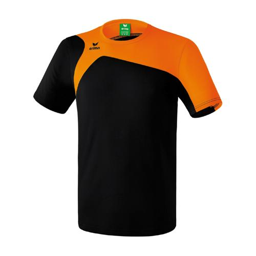 Tee-Shirt Erima Club 1900 2.0 Noir/Orange