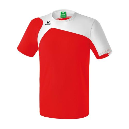 Tee-Shirt Erima Club 1900 2.0 Rouge/Blanc