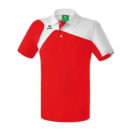 Polo Erima PES Club 1900 2.0 Rouge/Blanc