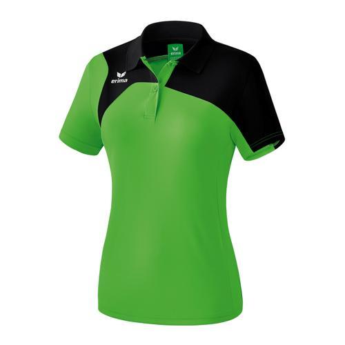 Polo Erima PES féminin Club 1900 2.0 Vert/Noir