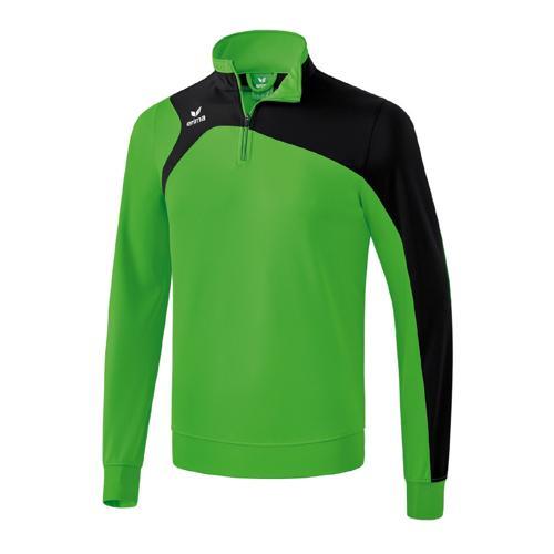Sweat Shirt 1/2 Erima Club 1900 2.0 Vert/Noir