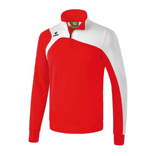 Sweat Shirt 1/2 Erima Club 1900 2.0 Rouge