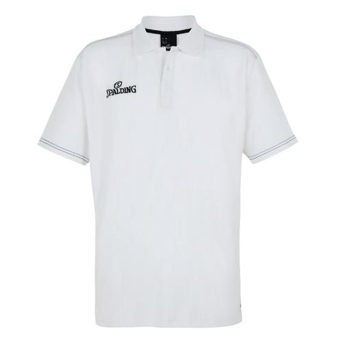Polo Spalding Slim Cut masculin Blanc/Noir