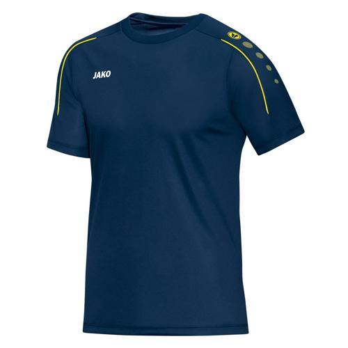 Tee-shirt Jako Classico Bleu nuit/Citron