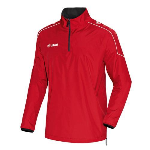 Sweat 1/2 zip reversible Jako Team Rouge/Noir