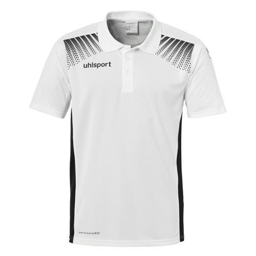 Polo Goal Uhlsport PES blanc/noir