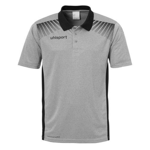 Polo Goal Uhlsport PES gris/noir